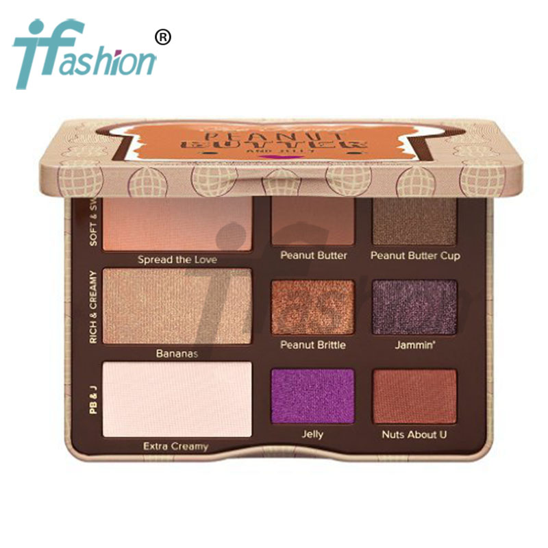 Presell Brand Peanut Butter Eye shadow+Blush 9 Colors 'Upcoming Products' Need wait.(China (Mainland))