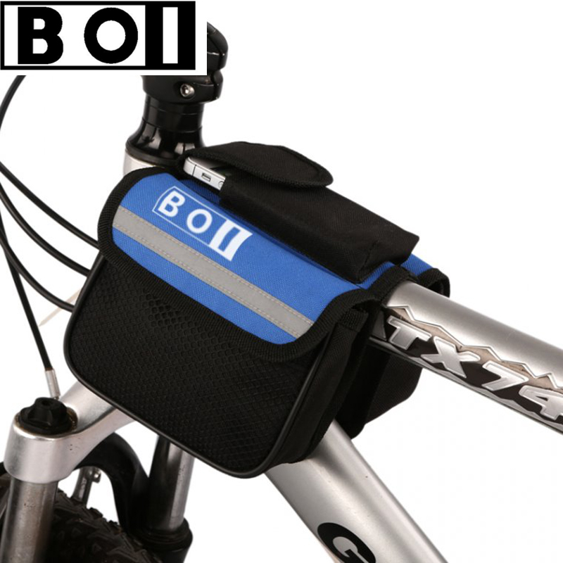 BOI bike front frame top tube bag cycling accessories bycicle basket cycle bags for bicycle(China (Mainland))