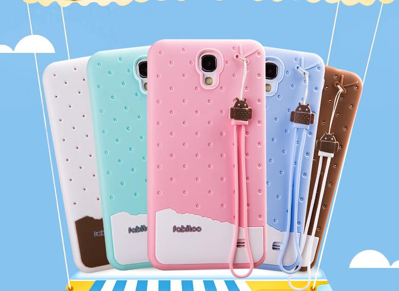 High Quality 3D Ice cream Series TPU Silicon Case Cover For Samsung Galaxy Mega 2 G7508Q G750F G7509 Free Ship(China (Mainland))