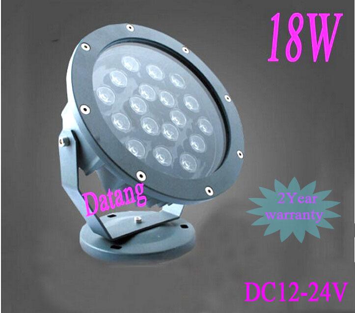 Ландшафтное освещение Datang 18W IP68 18W AC/DC12V 4 LED underground light
