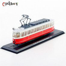 Collectible Model 1/87 Atlas Tram C1 Nr.141 (Simmering-Graz-Pauker)-1957 Tram Car /Train Model Collection Gift(China (Mainland))