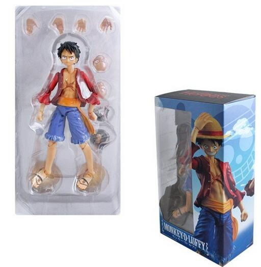 2016 new Japan anime one piece luffy Monkey D 13 joint Movable series collectible pvc action figure model toy children's 18cm
