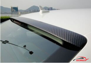 High quality 2009-2012 full carbon fiber A4 B8 rear roof spoiler for Audi<br><br>Aliexpress