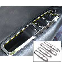 Buy FIT FOR 2012 2013 2014 2015 SECOND GEN CITROEN C4 HATCH C4L SEDAN CHROME INTERIOR DOOR WINDOW SWITCH PANEL COVER STICKER BEZEL for $21.15 in AliExpress store