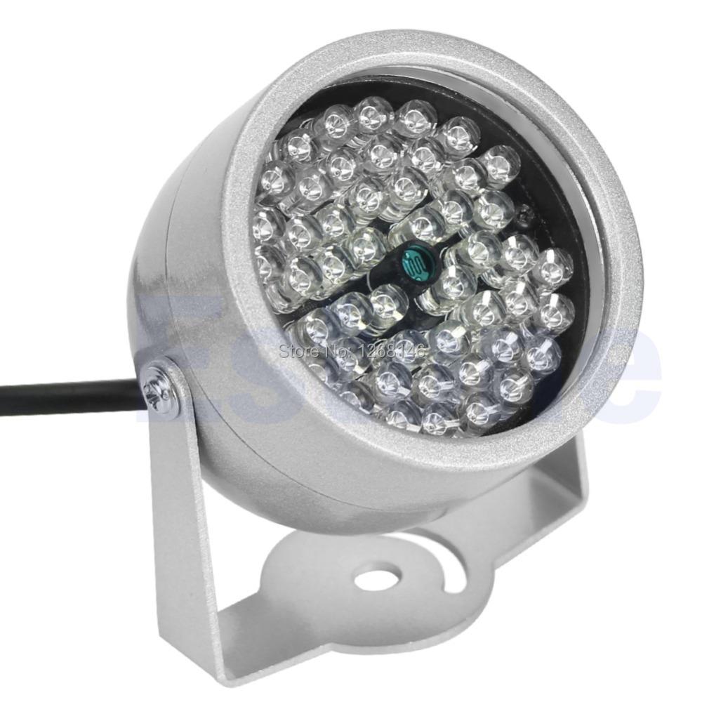 S111 Free Shipping1 Pieces CTV 48 LED Illuminator light CCTV Security Camera IR Infrared Night Vision Lam(China (Mainland))