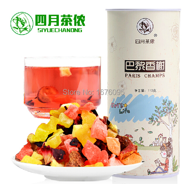 Mixed fruit tea, apple, strawberry, pineapple dry. Pure fruit, tea, nutritious and delicious, Christmas gifts,(China (Mainland))