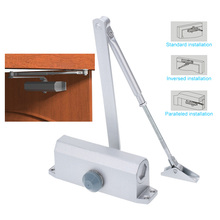 Access Control Automatic 45-65KG Door Closer Hydraulic Arm Mini Door Closer Mechanical Speed Control Home Office(China (Mainland))