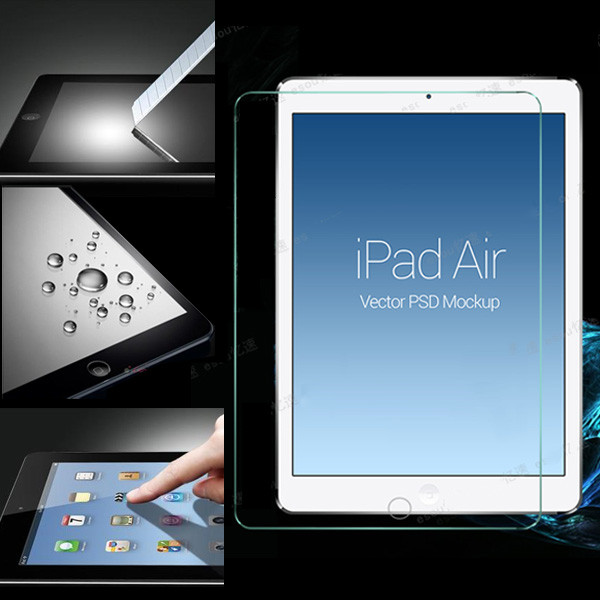 New Arrival Explosion Proof LCD Clear For iPad Air 5 5th Glass Front Premium Tempered Screen Protector Film Guard For Apple<br><br>Aliexpress