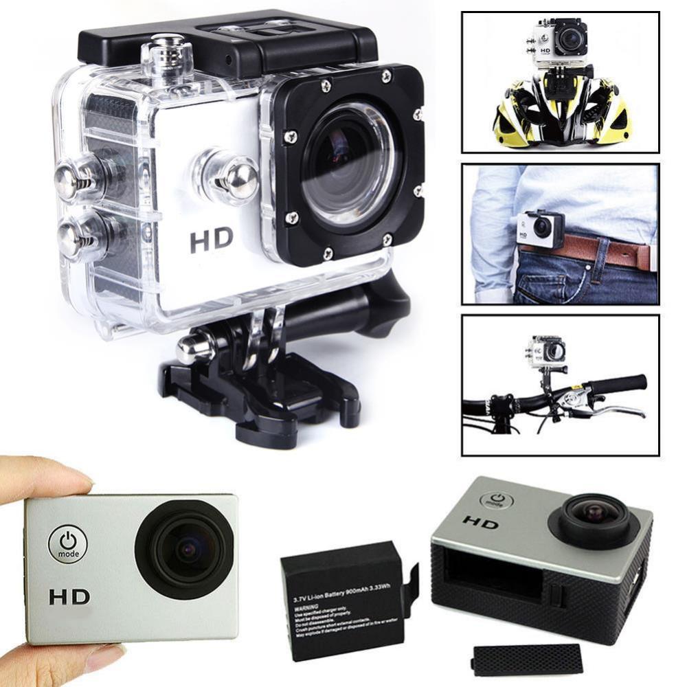 HTB14x3YLXXXXXXpXFXXq6xXFXXXs - Action Caméra Enregistreur Vidéo HD 1080 P 12MP  Étanche 30 M - Gold + Trepied