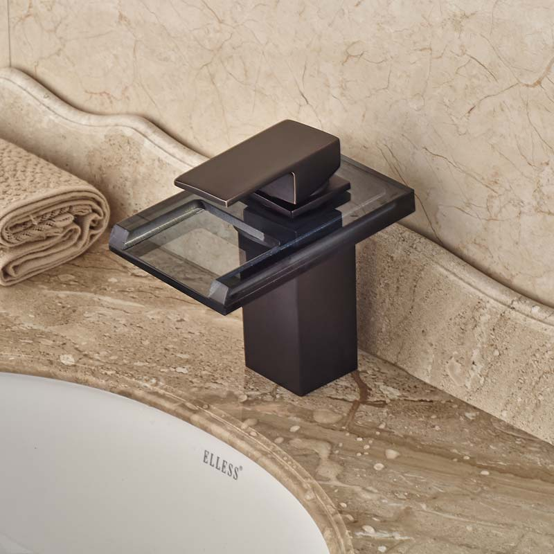Hot-Sale-LED-Light-Bathroom-Glass-Waterfall-Basin-Mixer-Faucet-Single-Handle-Oil-Rubbed-Bronze-Finish (2)