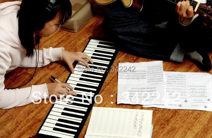 2014 New product exclusive listing 61keys,midi keyboard, Electronic Piano,Keyboard Silicon,Flexible Roll Up Piano with(China (Mainland))