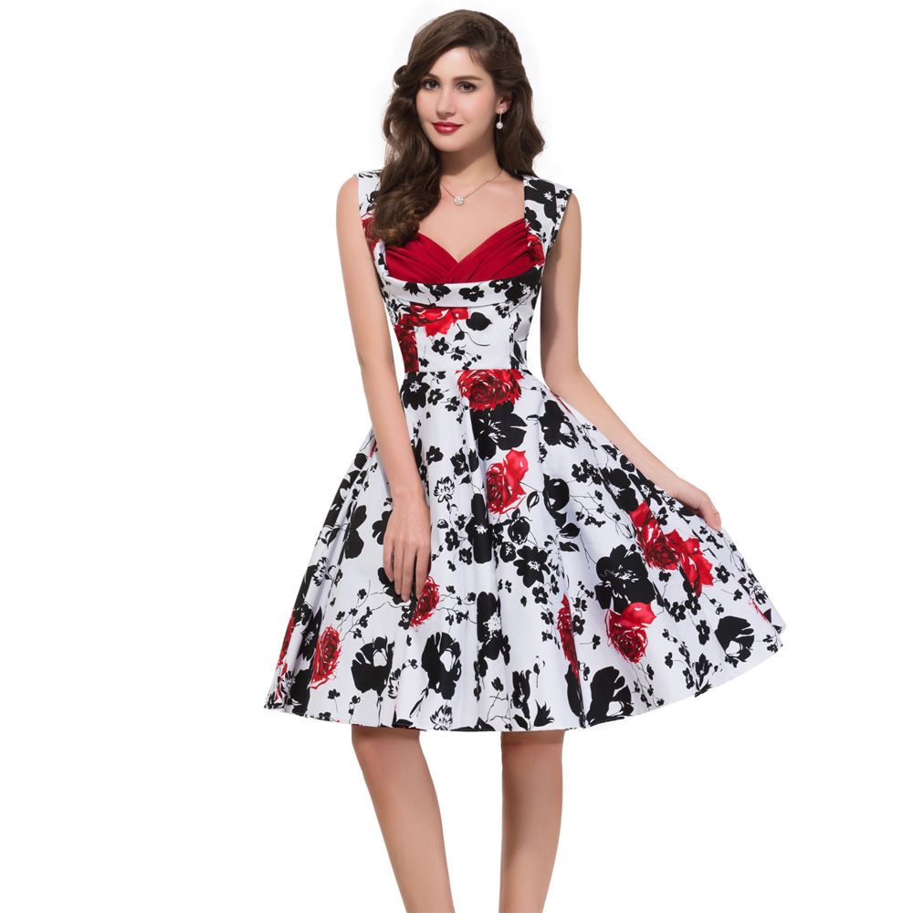Rockabilly dresses plus size cheap