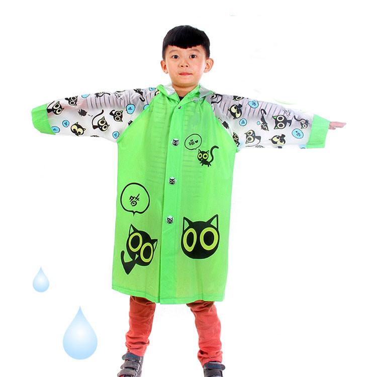 Free shipping 9 Color sale Children Raincoat Animal Rain Coat Rainwear Rainsuit Kids Waterproof Raincoat Children cartoon poncho(China (Mainland))