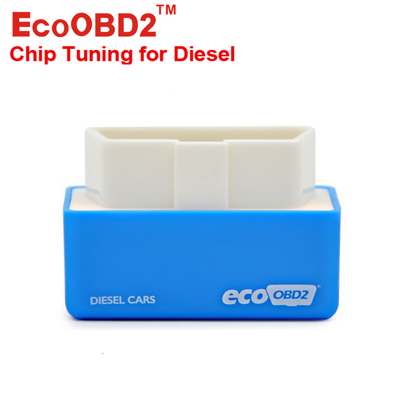 2016 New EcoOBD2 Diesel Car Chip Tuning Box Plug Drive OBD2 Lower Fuel & Emission stock Free Ship - DRSOBD Diagnostic Tool Store store