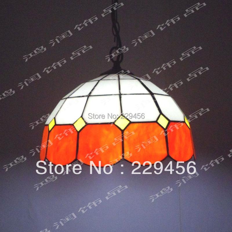 12 Inch Mediterranean Sea Style Tiffany Pendant Light Living Room Decoration Fixtures Lamparas Lustre E27 110-240V(China (Mainland))