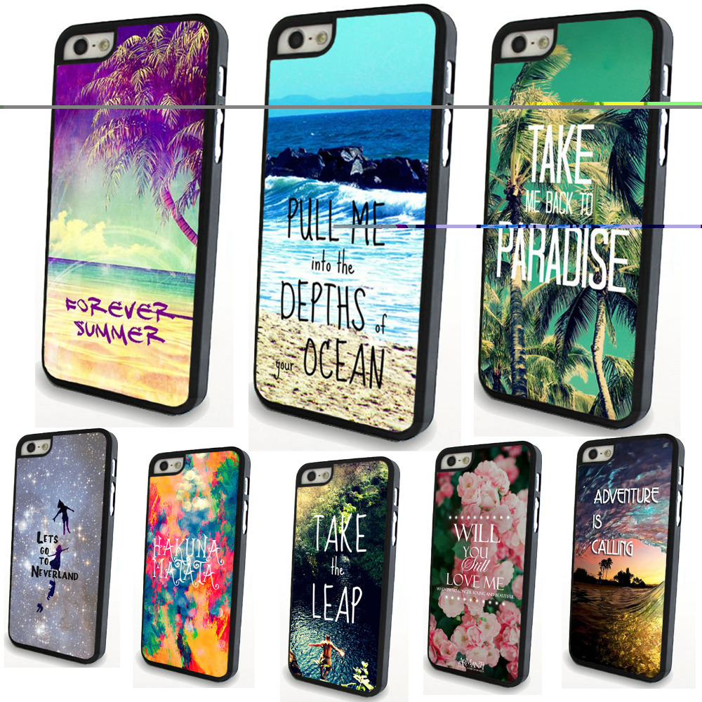 Apple iPhone 5/5S Colorful attractive Pattern Fancy Artistic Back Phone Case Cover WHD816 1-8 - yuan xuan store