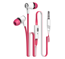 Original Stereo Bass earphone  Headphones handsfree Mic Noise Reduction Headset 3.5mm Earbuds For IPhone xiaomi Samsung mp3