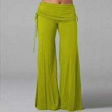 Summer 2016 Women Loose Culottes Plus Size Sports Trousers Long Flared Wide Leg Pants Ladies Layers Fashion Solid Pant(China (Mainland))