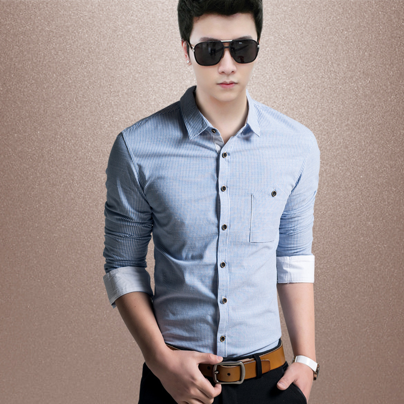 Classic Clothing For Men Brand Men's Clothing Blue