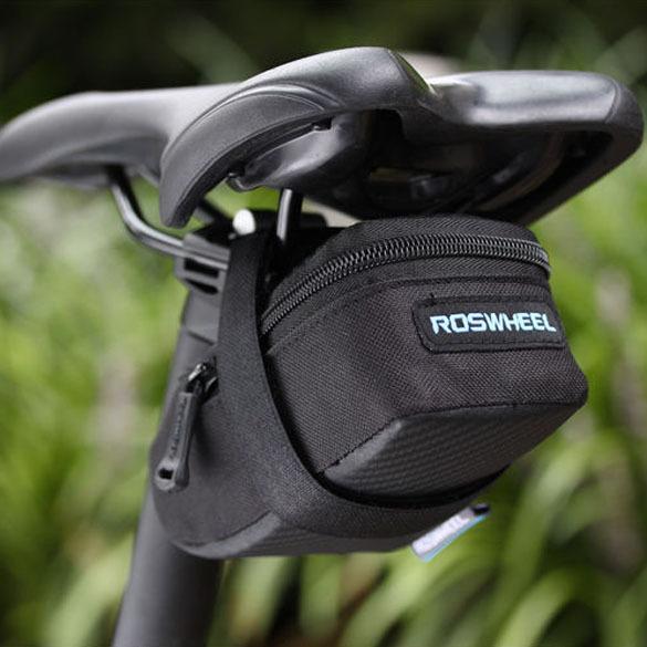 Portable Anti slip Zip Bicycle Bike Saddle Back Seat Bag Outdoor Cycling Bicycle Tail Saddle Bags