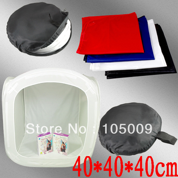 "16"" 40 x 40cm Photo Studio Softbox Light Tent Cube Soft Box"