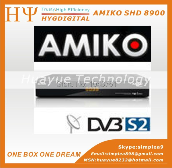 hot selling Amiko SHD-8900 Alien Satellite Receiver alien 8900 DVB-S2 Spark linux opensource Enigma2 Dual Boot(China (Mainland))