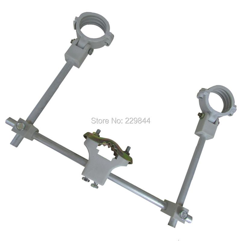 Free Shipping!Multi Feed LNB Bracket Holder For Satellite Dish Or Antenna Hold Up To 3 Ku Band LNB(China (Mainland))