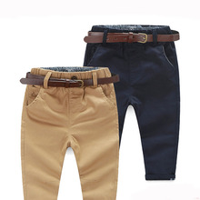 Retail 1PC 2-7 years kids pants Hot 2016 New spring solid soft casual Children's European style boy pants TSK7522(China (Mainland))