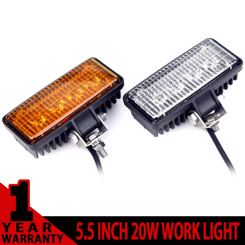 2PCS 5.5 INCH 20W CREE MINI LED WORK LIGHT FOR AVT OFFROAD 4x4 TRUCK TRACTOR WARNING DRIVING HEADLIGHT WORKING EXTERNAL LIGHTS<br><br>Aliexpress
