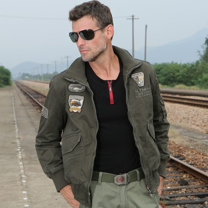 VipSport Outdoor Military Pilot Jacket M65 Outerwear 101 Pilot Coat(China (Mainland))