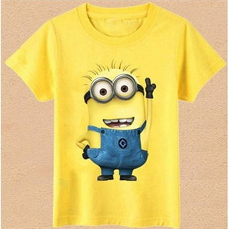 new 2016 t shirts anime figure despicable me