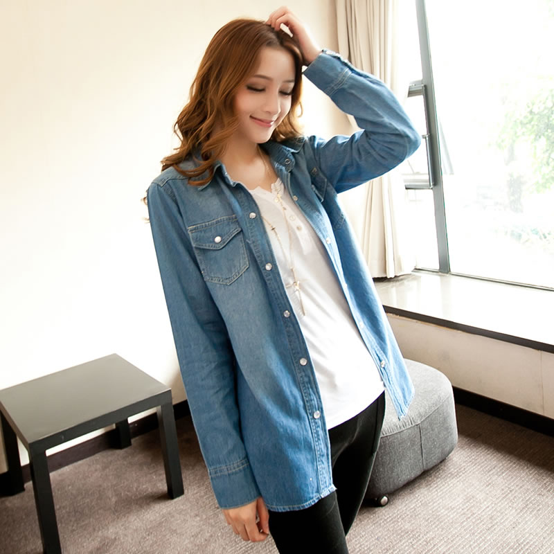 Denim Blouse For Womens 12