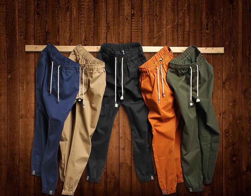 2015 autumn Men's Harem Pants Fashionable Personality Casual Hip Hop Dance Male Trousers joggers sweatpants big size 5XL(China (Mainland))