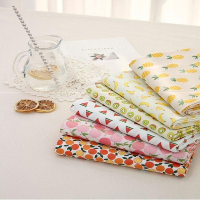 multiple choices Cotton Fabric Patchwork CartoonTissue Cloth Of Handmade DIY Quilting Sewing Baby Children Sheets Dress Material(China (Mainland))