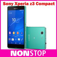 "Original Sony Xperia Z3 Compact  D5803 3G&4G Android Quad-Core 2GB RAM 4.6"" 20.7MP Camera WIFI GPS 16GB Storage Unlocked phone(China (Mainland))"