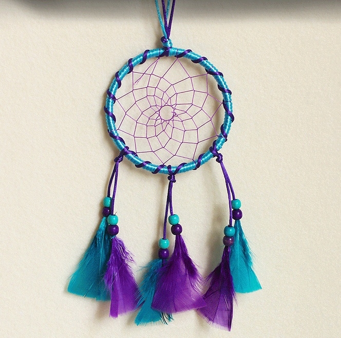 Dream Catcher Wall Hanging Crafts Dreamcatcher Home Decoration