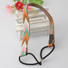 New High Quality Vintage Bohemian Ethnic Embroidery Flower Headband For Womens &Girls Elastic Hair Band Retro Hair Accessories(China (Mainland))