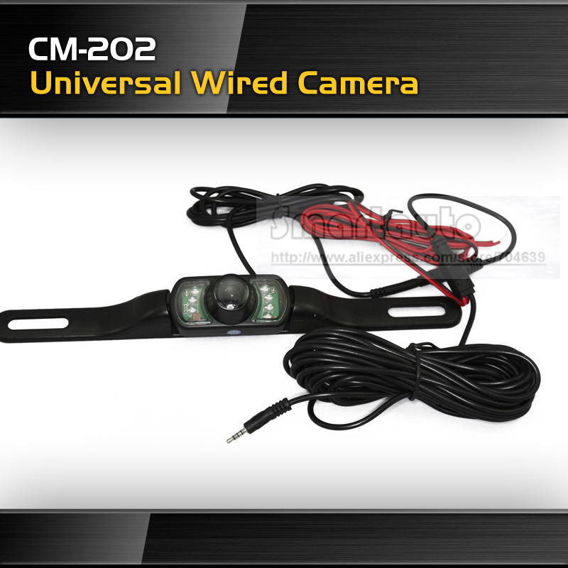 CM 202 Wired Rear view car camera parking camera Shockproof Night vision Waterproof camera pixels 628 x 582(China (Mainland))