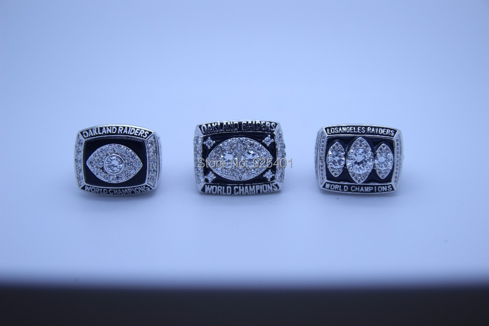 Oakland Raiders Rings Copper Plating Gold Replica Championship National Football League Super Bowl - born4beauty store