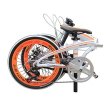 "20"" Folding Bike Road Bicycles Mechanical Brakes 7 Speed SHIMAN0 Gear Suspension Aluminum Frame 20 Inch Bike MTB Mountain(China (Mainland))"