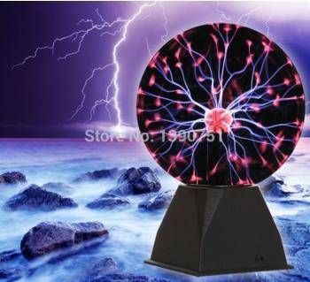 Free Shipping Original Quality A+ 8inch Novelty Glass Lighting Plasma Ball For Holiday Christimas Birthday Gifts(China (Mainland))
