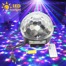 Variety of modes MP3 music function lighting laser light stage lighting MINI colourful lamp LED light with USB drive controller(China (Mainland))