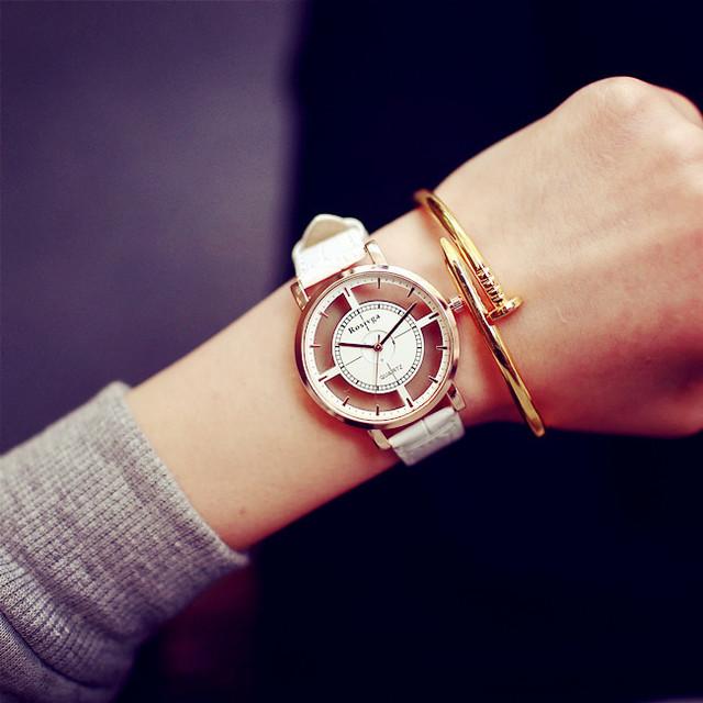 Zegarek damski Hollow Skeleton trzy kolory