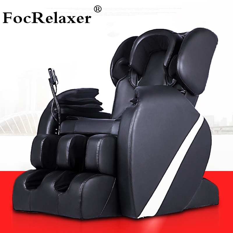 Electric Full Body Shiatsu Massage Chair Foot Roller Zero Gravity w/Heat Massage Recliner(China (Mainland))