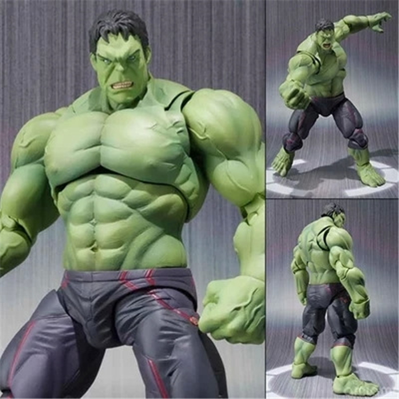 Super Hero The Avengers Movie Hulk Action Figures Juguetes PVC Model Dolls Movable Anime Figure Kids Toys Birthday Gift<br><br>Aliexpress