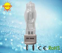CP92 230V 2000W G22 quartz halogen lamps stage light(China (Mainland))