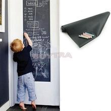 Vinyl Chalkboard Wall Stickers Removable Blackboard Decals Great Gift for Kids 45CMx200CM Pizarra Etiqueta De Pared ZT(China (Mainland))