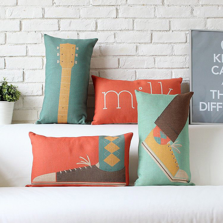 Modern Decorative Pillows For Sofa : Modern decorative throw pillow sofa cushions home decor-in Cushion from Home & Garden on ...