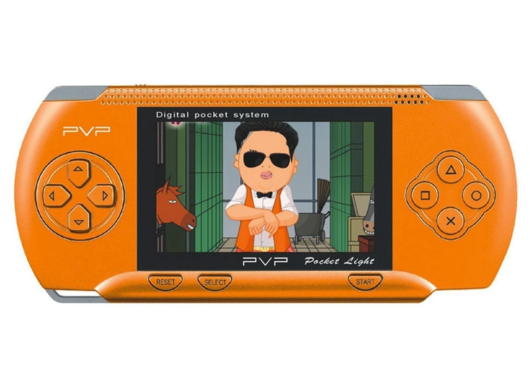 PVP Crash Handheld Game Console PVP Station 8 Bit Video Games Player 30PCS/LOT DHL Free shipping(China (Mainland))