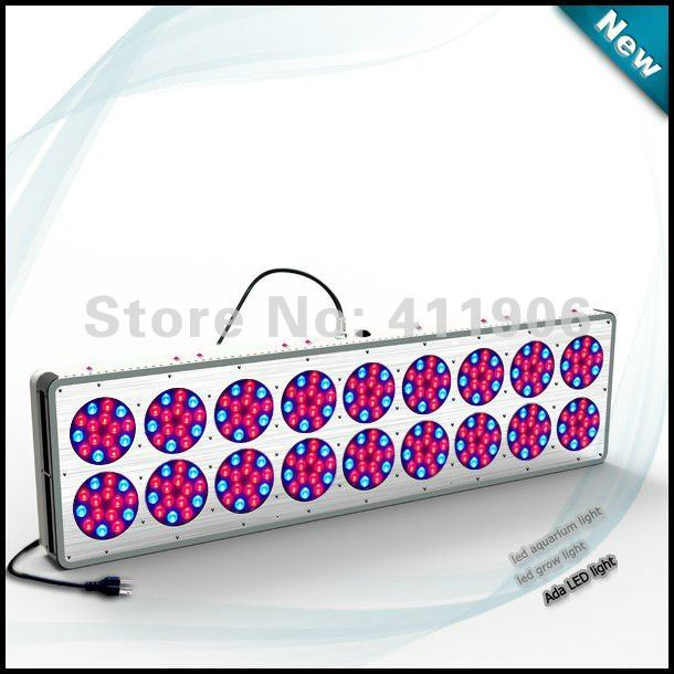 freeshipping.6 bands spectrum powerful 560W Apollo LED grow light for plants growing in home garden hydroponic system(China (Mainland))